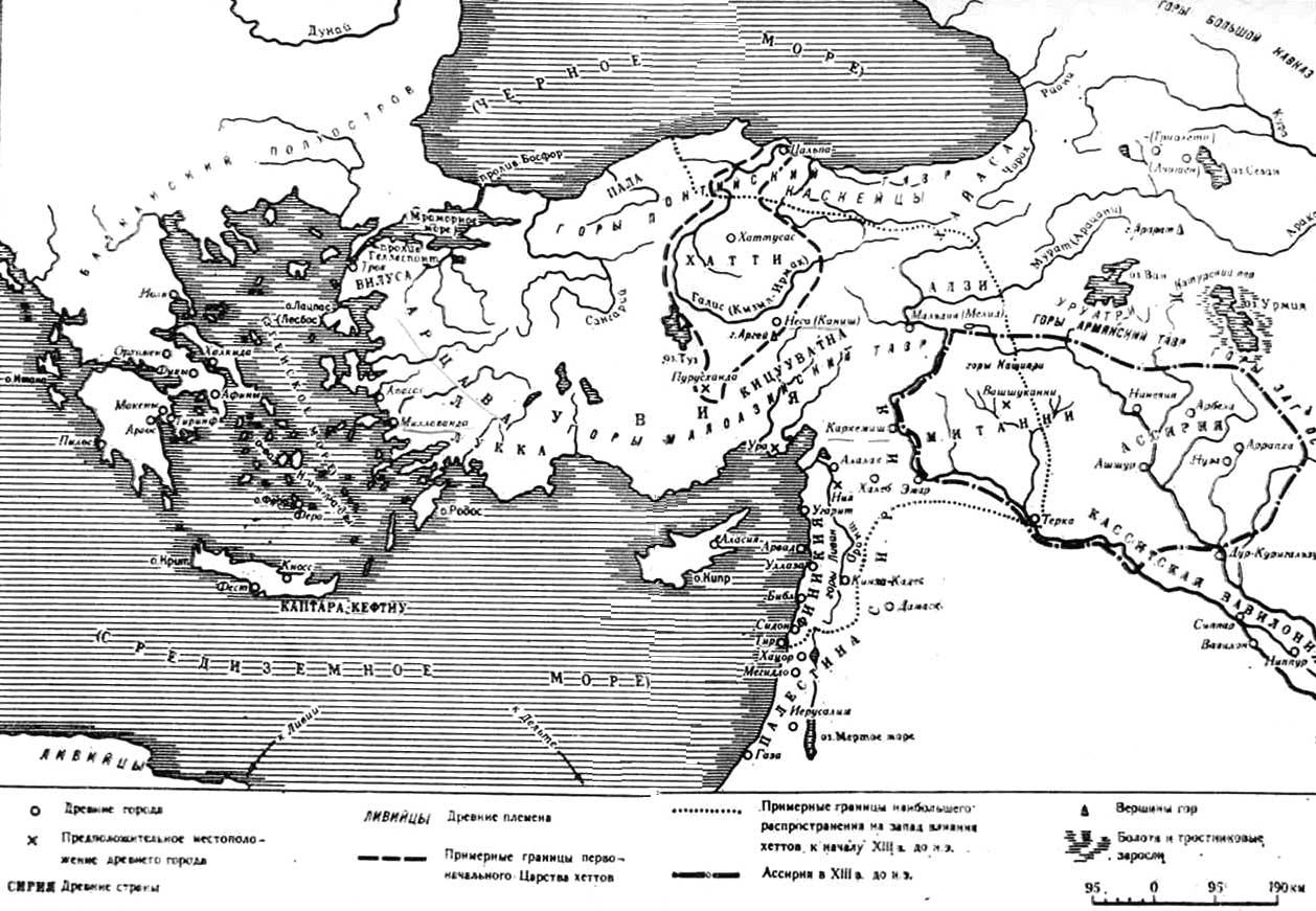 Карта. Греческая колонизация в VIII-V вв. до н.э.